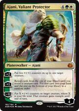 (Foil) AJANI, VALIANT PROTECTOR Aether Revolt MTG Gold Planeswalker Mythic