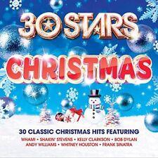 30 Stars: Christmas - Various  (NEW 2 x CD)