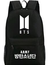 BTS Kpop Backpack Schoolbag Korean Fashion Back to School Merchandise