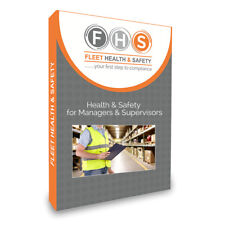 Health & Safety Powerpoint Training Presentation for Managers & Supervisors