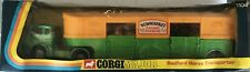 CORGI BEDFORD NEWMARKET RACEHORSE TRANSPORTER - BOXED -#1104