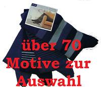 4 Paar Herren Socken 70 Motive Freizeit hochwertige Baumwollmischung Öko-Tex