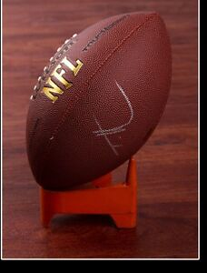 GFA Blindside - Friday Night Lights TIM McGRAW Signed NFL Football AD1 COA