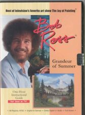 BOB ROSS NEVER SEEN ON TV  DVD 1 HOUR GRANDEUR OF SUMMER NEW IN CASE SHIPS FREE