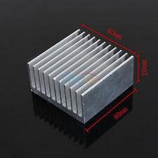 40x40x20mm Radiador Aluminio Disipador de calor Enfriador para Transistor