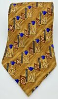Vintage BOLGHERI Neck Tie 100% Silk Made in Italy NWOT 59.5 X 3.75""