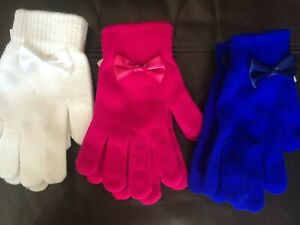 Ladies Magic Gloves Various Colours Choose From List