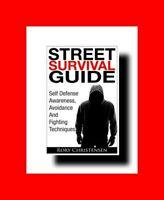 ☆SHORT MARTIAL ARTS BOOK:58pp STREET SURVIVAL GUIDE:SELF DEFENSE AWARENESS%AVOID