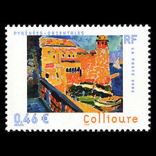 France 2002 - Tourism Collioure Painting Art - Sc 2886 MNH