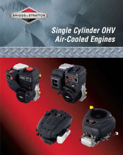 New Briggs Stratton Single Cylinder OHV Air-Cooled Engine Service Manual 276781