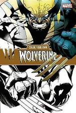 Color Your Own Wolverine, Marvel Comics, New Book