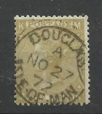 1867/80 Sg 110, 9d Straw (MK) Plate 4, Superb Used.