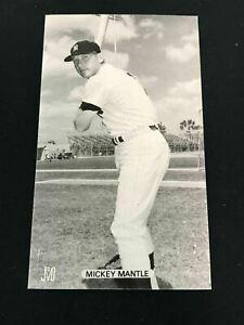 J.D. McCarthy MICKEY MANTLE postcard New York Yankees Tough *PL1