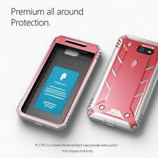 [20pcs/lot] Galaxy J7 Case Poetic Shockproof Cover with Screen Protector Pink