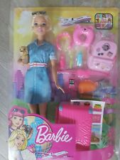 Barbie Dream House Adventures Travel Doll With 10+ accessories brand new in box