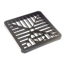 Gulley (Fossato) griglia di drenaggio COVER COPERCHIO nera in PVC 6 Pollici 150 mm quadrato