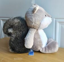 "NWT Carter's Gray Squirrel 9"" Plush Stuffed Animal Toy Baby (Discontinued)"