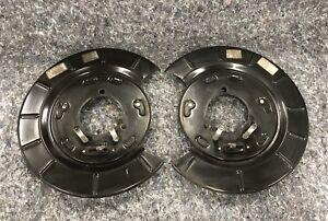 10-15 Camaro SS w/ Brembo Rear Dust Shield w/ Emergency Brake Assembly L & R Set