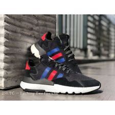New Adidas Nite Jogger FV3585 - Black/ Blue/ Red, Running Shoes Sneaker Trainers