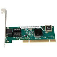 Carte RéSeau PCI Realtek 8169 10/100/1000 Mbps Gigabit Ethernet Carte LAN / A9A6