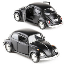 Classic VW Beetle 1967 Model Cars Toys 5Inch Gifts Alloy Diecast Matte Black New