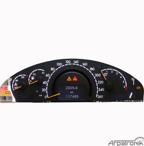 Mercedes W220 Tacho Reparatur
