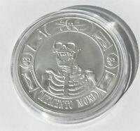 MEMENTO MORI .999 Silver Round 1 Troy Oz .999 Fine Coin Anonymous Mint
