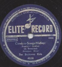 Cowboy Musik 40er jahre : The Buckaroo Kids Cowboy song Medley
