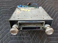 Vintage Bmcd Amfm Auto Car Stereo 8 Track Player Single Din Dual Post Bm 1110