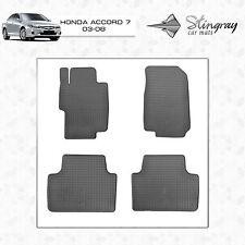 Gummifußmatten für Honda Accord 2008 Limousine Stufenheck 4-türer 4tlg6