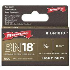 Arrow Fastener BN1810CS Brown Brad 5/8-Inch Nails