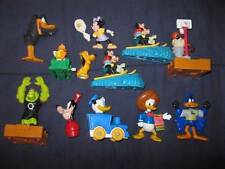 Lot Of 12 Small Disney & Looney Tunes Plastic Toys Donald & Daffy Dick Goofy (O)