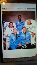 More details for space shuttle orbiter  ov-099 (challenger crew members) nasa 10.x.8. signed phot