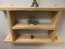 Reclaimed  wood Shelf Unit  handmade Hard Wood Natural