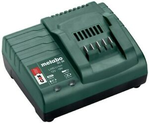 Metabo SC30 12-18v Battery Charger, Compatible With Li-Ion & LiHD Batteries