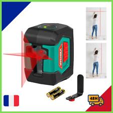 Niveau Laser 15M Autonivelant 2 Module Laser Rotatif 360° Bricolage AUTONOMIE 20