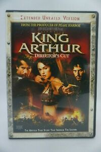 KING ARTHUR - EXTENDED UNRATED VERSION DIRECTOR'S CUT DVD