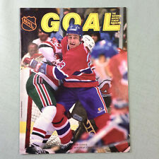 Goal Hockey Magazine Volume 15 Issue 1 1987