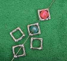 40pcs tibetan Silver charm framework Making Spacer Beads  12mm