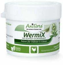 AniForte Wermix Pulver 20gr Für Hühner Gänse und Großvögel natürlicher Wurmfeind