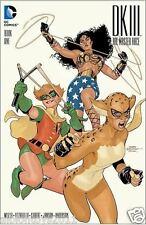 DARK KNIGHT III 3 MASTER RACE #1 OF 8 TERRY DODSON ZAPP COMICS VARIANT DC COMICS