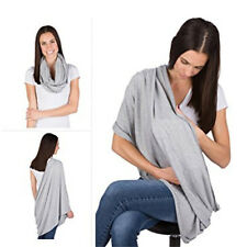 Grey Multi-use Nursing Covers Breastfeeding Scarf Baby Supplies for Moms Gift