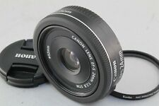 MINT Canon EF-S 24mm F/2.8 STM lens hardly used