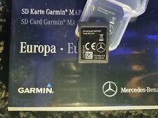 NEW 2021 V15 MERCEDES GARMIN MAP SAT NAV SD CARD (A213) C • GLC • E • V • X