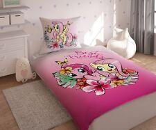 Conjunto De Ropa De Cama 100% con licencia Pony My Little Algodón, tienda de Reino Unido, Pinkie Pie, Fluttershy