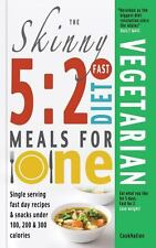 The Skinny 5: 2 Fast Diet Vegetarian Meals for One (Paperback or Softback)