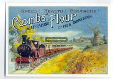 ad1711 - Coombes Flour - modern advert postcard