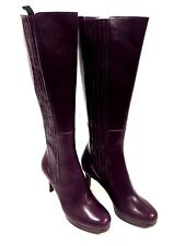 Bottes femme Cuir Violet Fratelli Rossetti Taille 39 FR/ 7.5 US