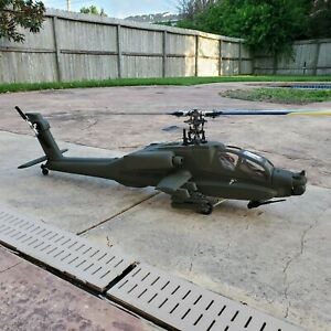 RC Helicopter AH-64 Apache 500 Size ARTR