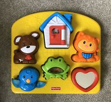 Fisher Price Brilliant Basics Toddler  Activity Puzzle Baby Interactive Play